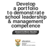 Develop a portfolio to demonstrate school leadership & management competence