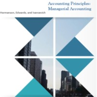 Accounting Principles: Managerial Accounting