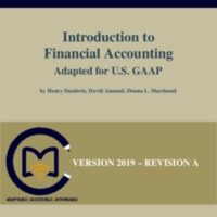 Introduction to Financial Accounting Adapted for U.S. GAAP