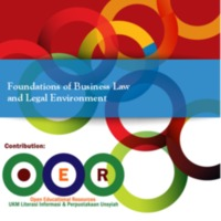 Foundations of Business Law and Legal Environment