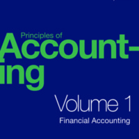 Principles of Accounting Volume 1 Financial Accounting