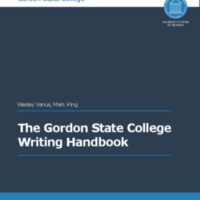 The Gordon State College Writing Handbook.pdf