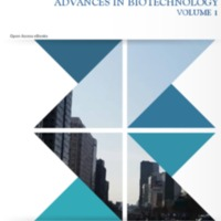Advances in Biotechnology Volume 1