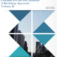 Calculus for The Life Sciences A Modeling Approach Volume II.pdf