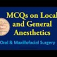 MCQs in Oral and Maxillofacial Surgery - Local and  General Anesthetics