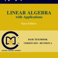 Linear Algebra with Applications. Open Edition<br />