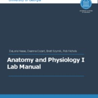UGA Anatomy and Physiology 1 Lab Manual