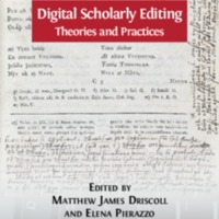 Digital Scholarly Editing : Theories and Practices