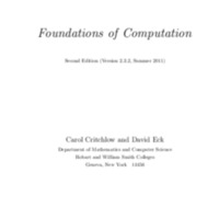 Foundations of Computation