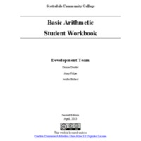 Basic Arithmetic Student Workbook