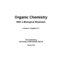 Organic Chemistry With a Biological Emphasis: Volumes II<br />