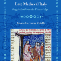 Public Justice and the Criminal Trial in Late Medieval Italy
