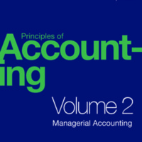Principles of Accounting, Volume 2: Managerial Accounting<br />