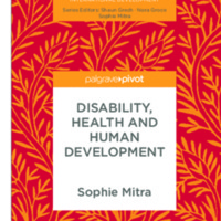 Palgrave Studies in Disability and International <br /> Development