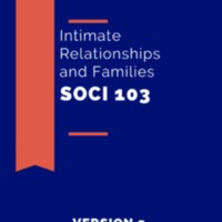 Intimate Relationships and Families . Sociology 103 v.2