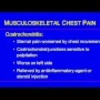 The Evaluation of Chest Pain