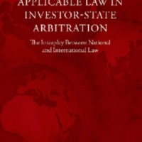Applicable Law in Investor–StateArbitration